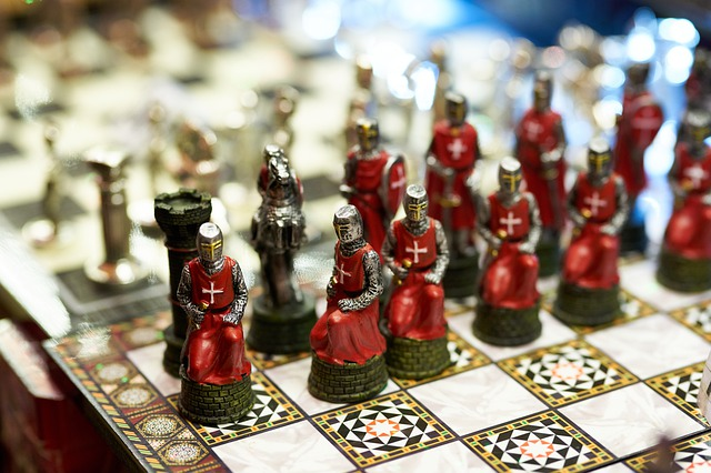 チェスの絵