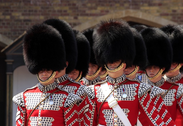 バッキンガム宮殿のガード達