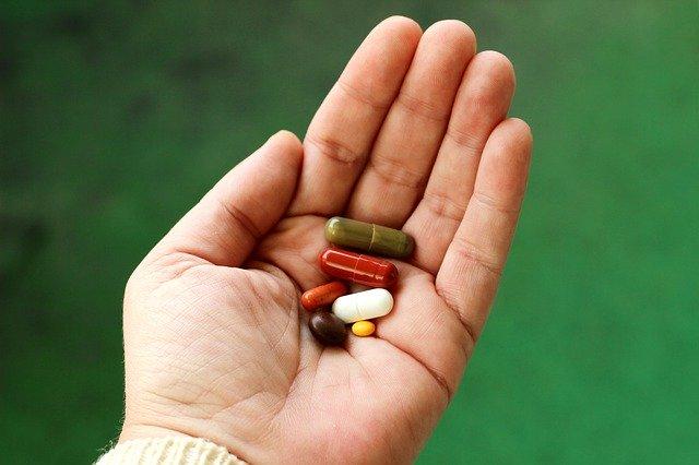 カプセルの薬